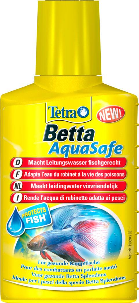 Фото - Tetra Aquasafe Betta – Тетра средство для подготовки водопроводной воды для бойцовых рыб (100 мл) tetra torumin средство для подготовки водопроводной воды 250 мл