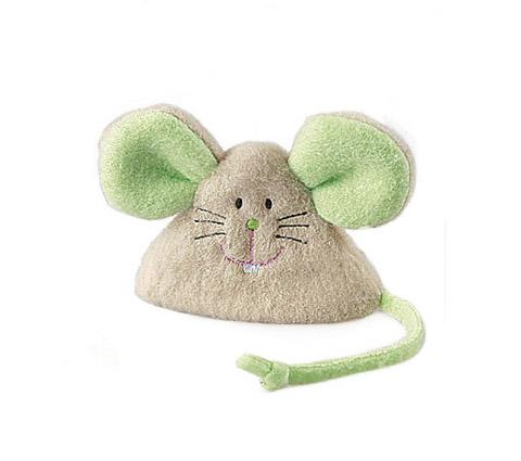 Игрушка для кошек Мышка с кошачьей мятой 8 см GiGwi (1 шт)