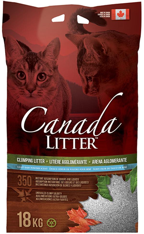 Фото - Canada Litter наполнитель комкующийся для туалета кошек Запах на замке с ароматом детской присыпки (6 кг) наполнитель intersand extreme classic hygienic litter впитывающий без ароматизатира для кошек 6 87кг л14212