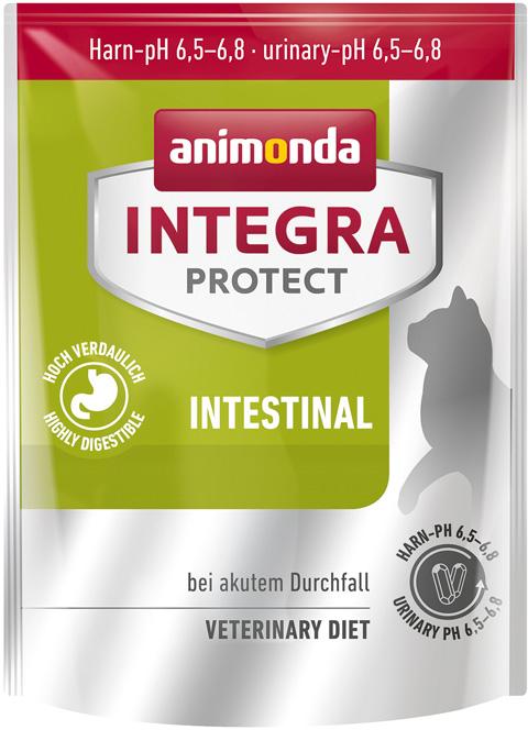 Animonda Integra Protect Cat Intestinal для взрослых кошек при заболеваниях желудочно-кишечного тракта (1,2 кг) royal canin gastro intestinal puppy для щенков при заболеваниях желудочно кишечного тракта 195 гр 195 гр