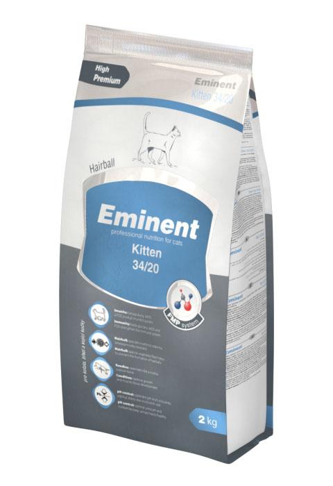 Eminent Kitten 34/20 для котят, беременных и кормящих кошек (10 кг)