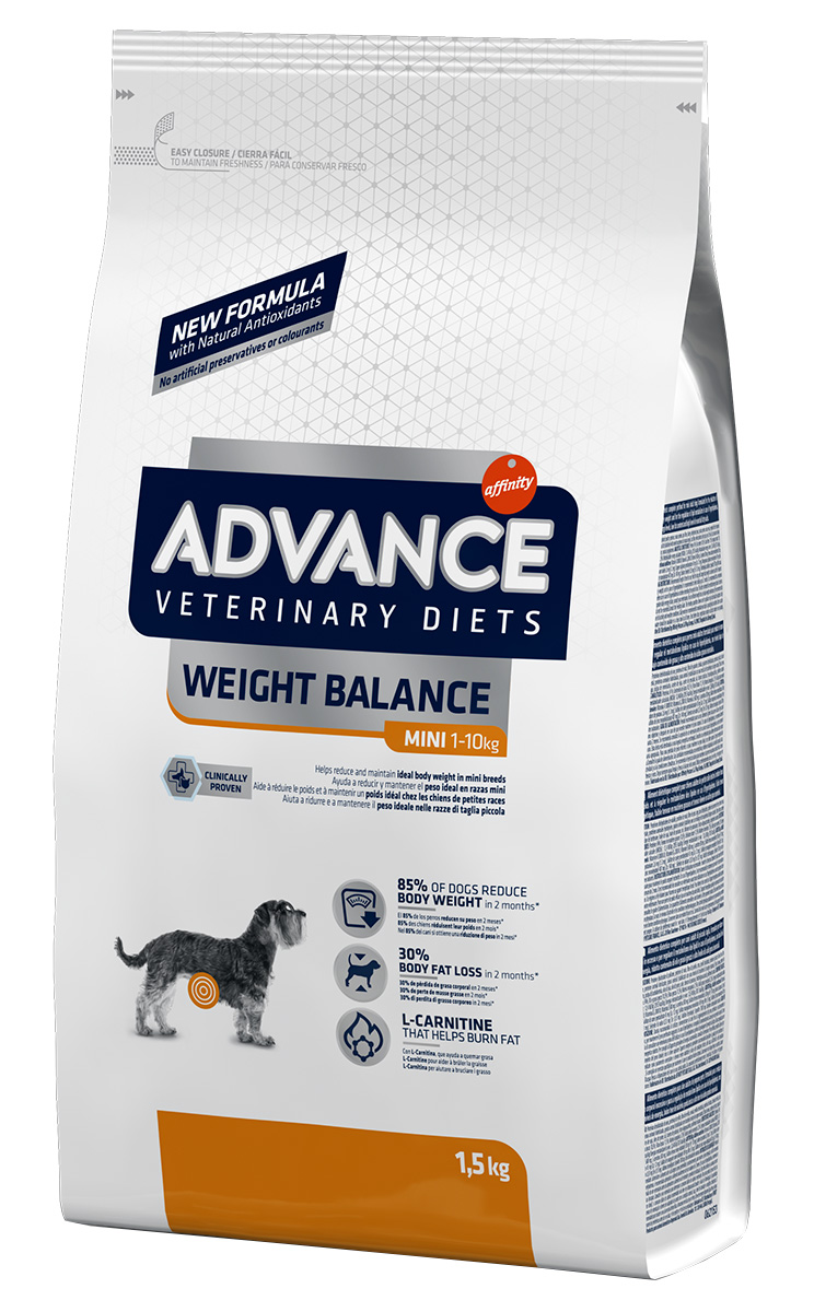 Advance Veterinary Diets Weight Balance Mini для взрослых собак маленьких пород при ожирении (1,5 кг) 1pc 200kg electronic balance platform scale load cell weight weighing pressure balanced sensor precision tool parts mayitr