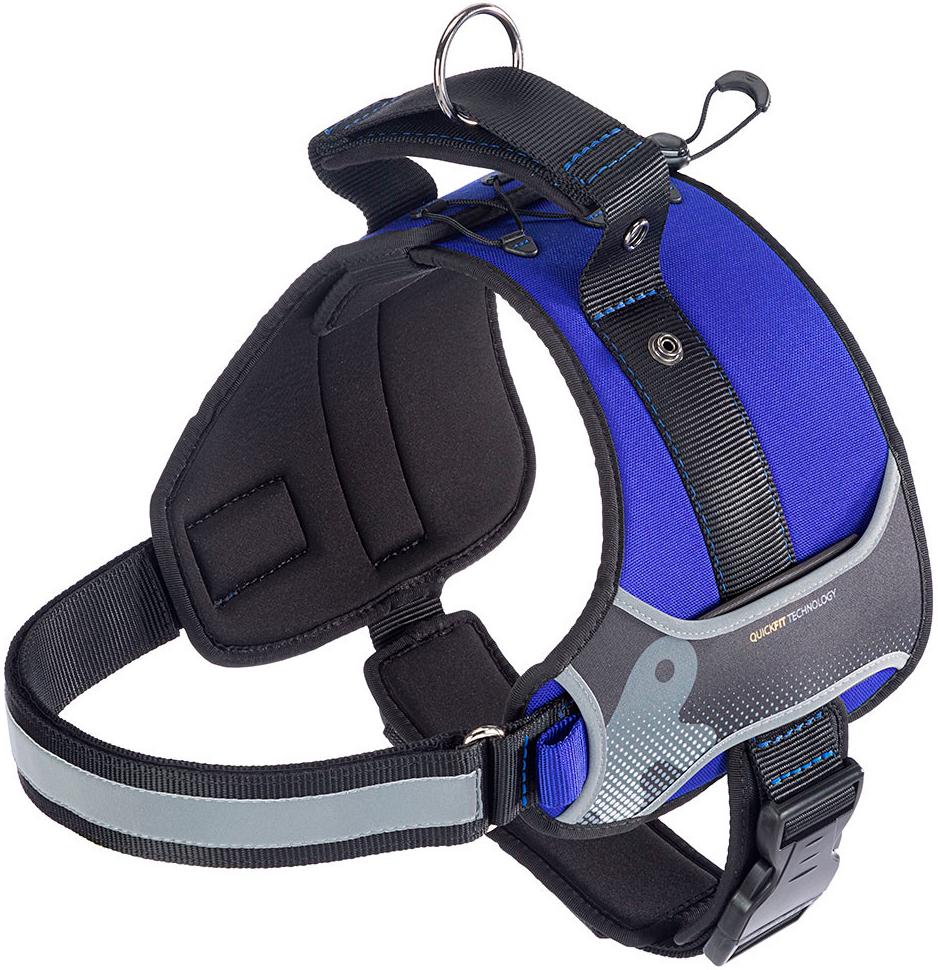 Шлейка для собак средних пород Ferplast Hercules P Medium синяя (1 шт) фото