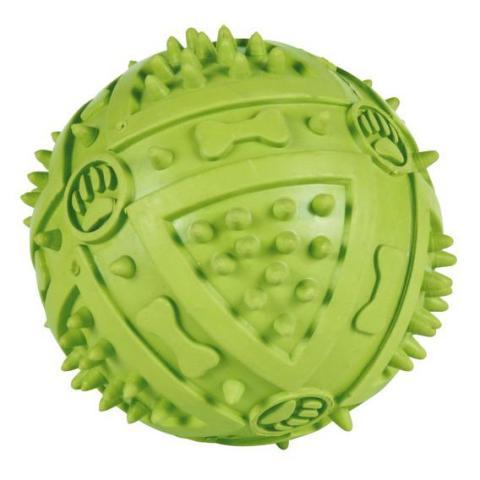 Trixie игрушка для собак «Мяч игольчатый» (9 см)