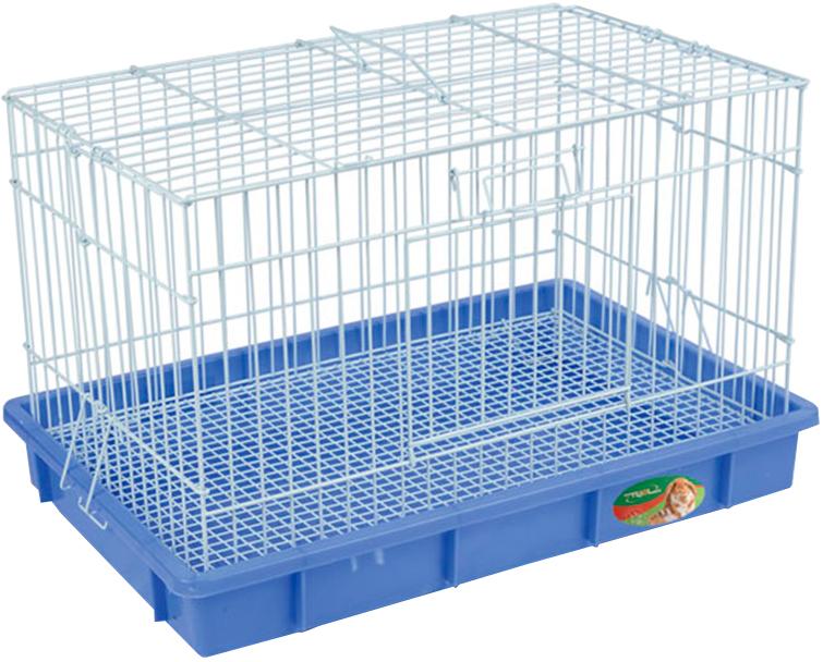 Клетка для кроликов Triol T2 эмаль 56 х 34 х 37 см (1 шт) фото