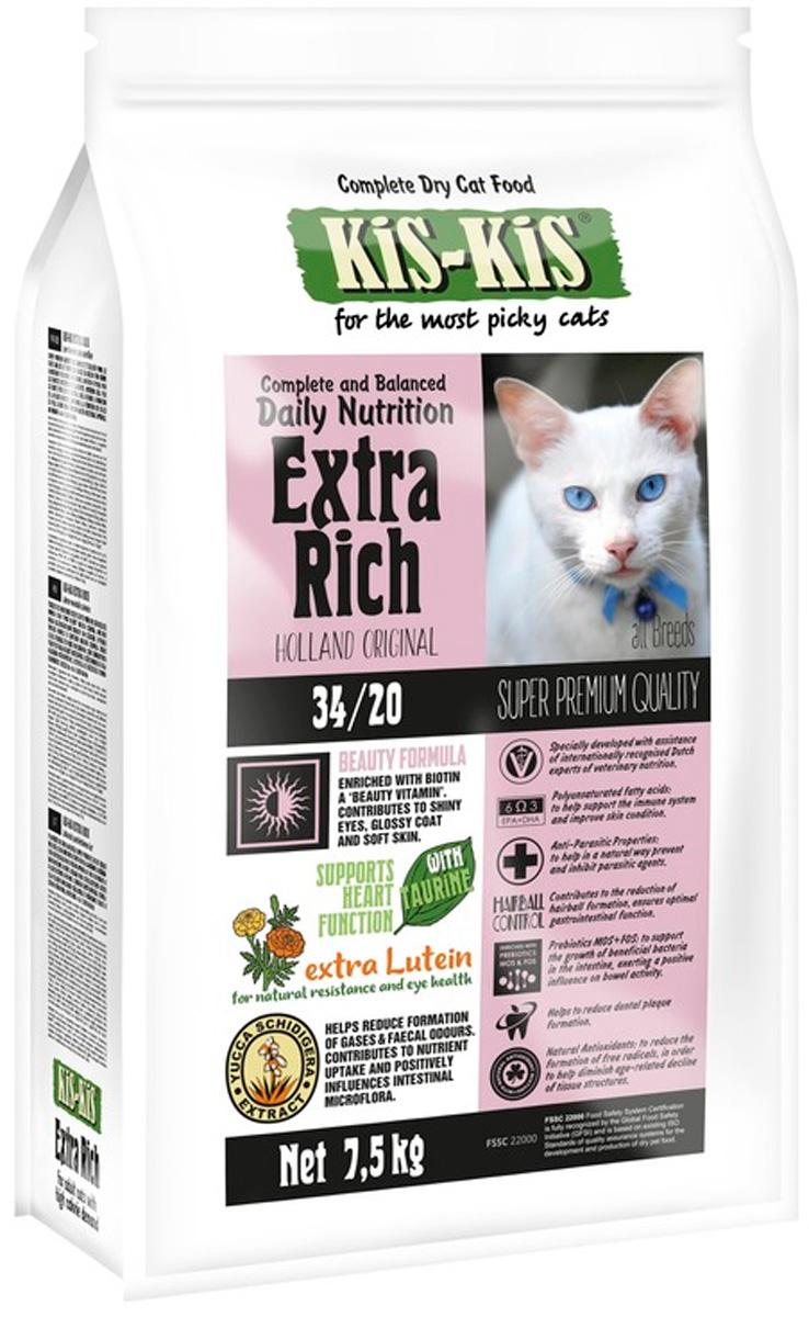 Kis-kis Extra Rich для взрослых кошек с птицей (500 гр) фото