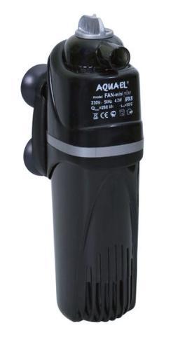Фото - Внутренний фильтр Aquael Fan Mini Plus, 260 л/ч, для аквариумов объемом до 60 л (1 шт) внутренний фильтр aquael fan filter 3 plus для аквариума 150 250 л 700 л ч 12 вт