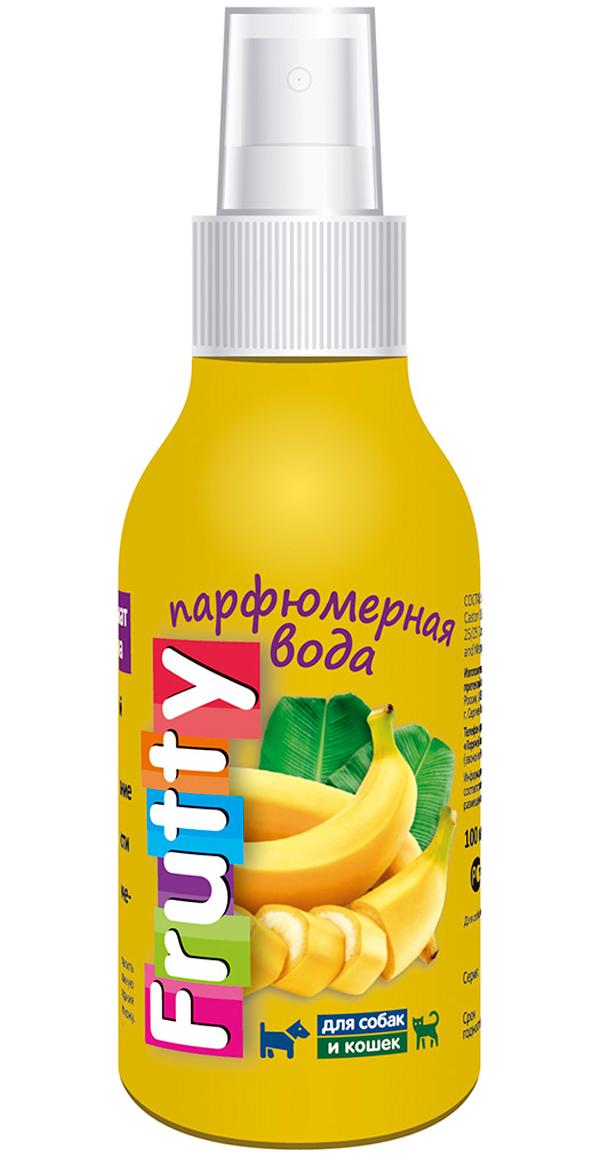 Frutty Банан парфюмерная вода для собак и кошек авз (100 мл)